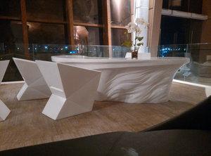玻璃钢个性异性前台